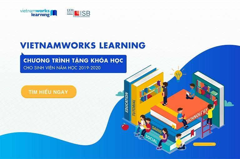 Chương trình tặng khóa học cho sinh viên ISB từ VietnamWorks Learning