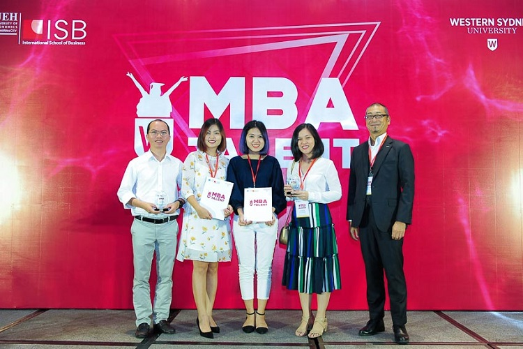 Các thí sinh nhận giải thưởng trong cuộc thi MBA Talent 2018 đến từ các tập đoàn đa quốc gia: Dentsu, Isobar, Unilever, Nestle…