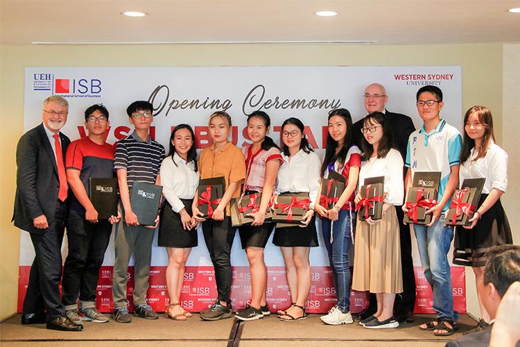 Viện ISB _những sinh viên nhận học bổng WSU BBUS Talent