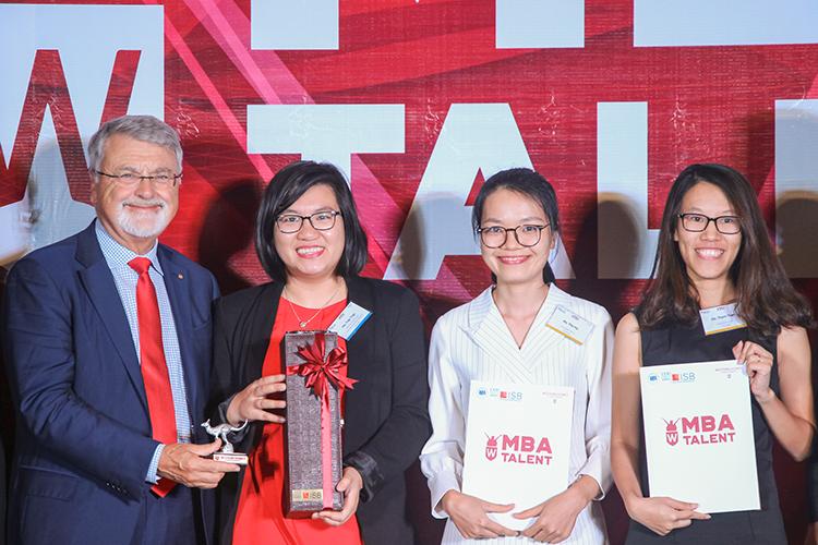Viện ISB_học viên nhận học bổng MBA Talent 2019
