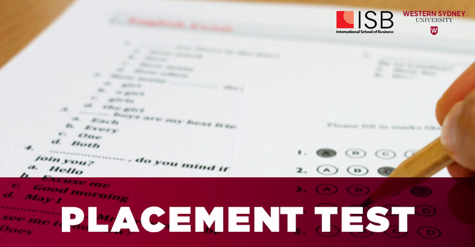 Viện ISB _ Placement Test