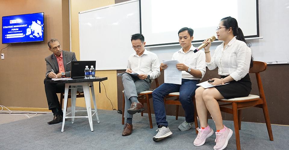 Chương trình Thạc sĩ Kinh doanh MBA của Viện ISB