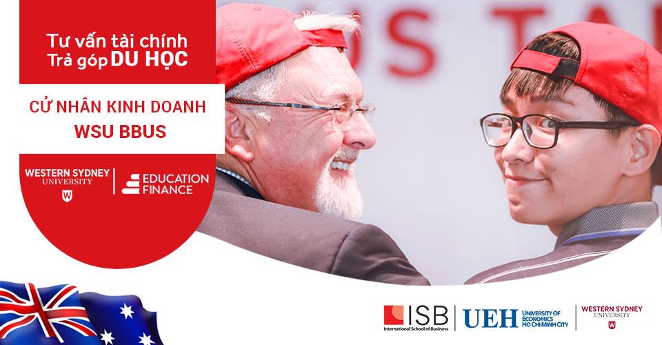 Viện ISB_Trả góp du học Chương trình Cử nhân DH Western Sydney