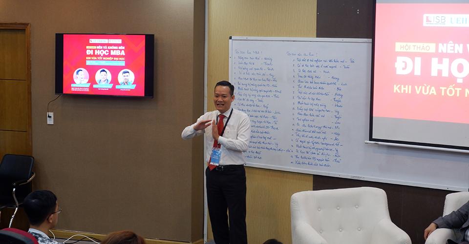 Viện ISB_ThS Nguyễn Văn Hóa chia sẻ nguyên nhân học MBA