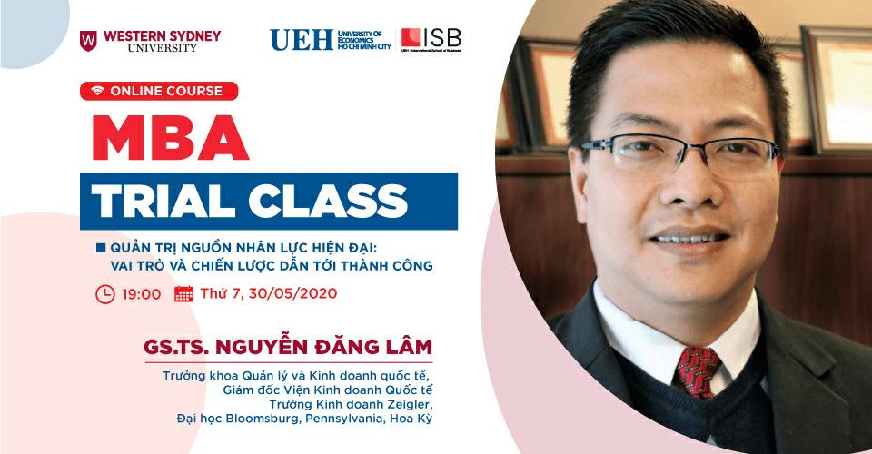 MBA Trial Class - Quản trị nguồn nhân lực hiện đại