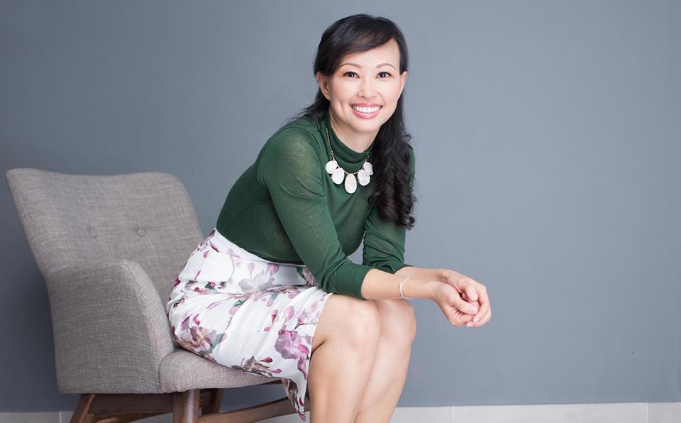 Bà Thái Vân Linh luôn giữ niềm tin và lạc quan trong công việc và cuộc sống