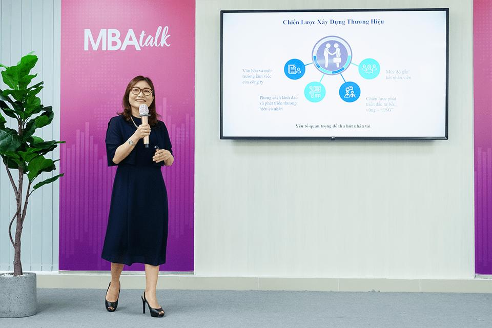Bà Lê Thanh Nguyên An – Giám đốc Nhân sự, Tập đoàn VinaCapital