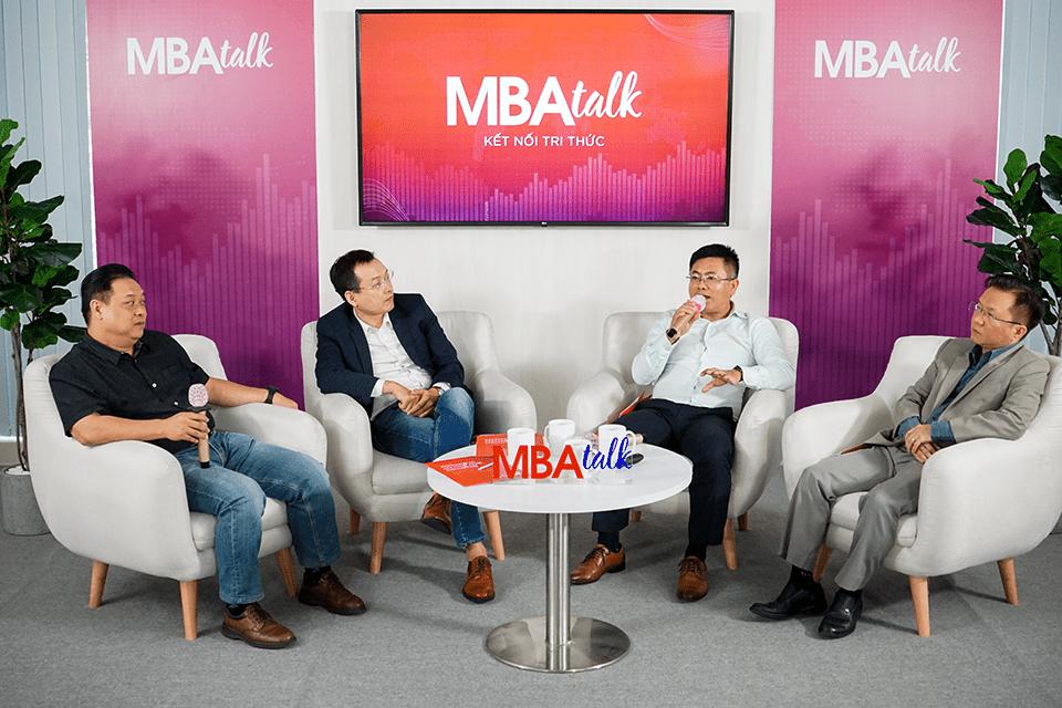 Hội thảo MBA Talk được tổ chức bởi Viện ISB, Trường Đại học Kinh tế TP. Hồ Chí Minh