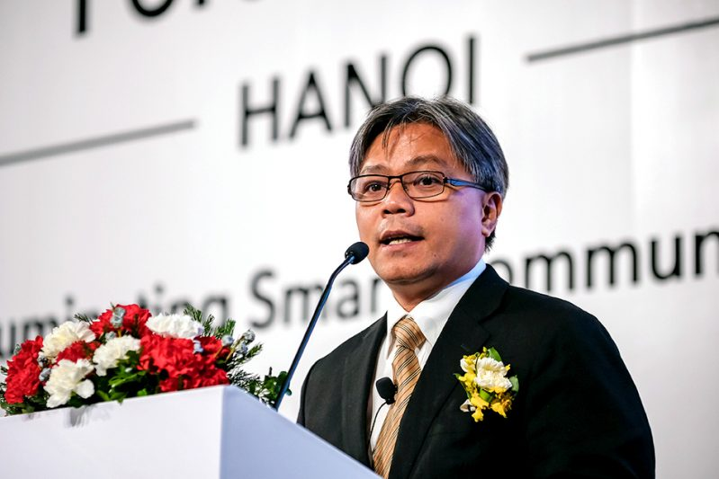 ThS. Nguyễn Bá Quỳnh - Phó Chủ tịch Cấp cao Tập đoàn Hitachi Vantara; Tổng Giám đốc Hitachi Vantara Việt Nam