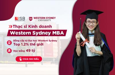 Tuyển sinh Thạc sĩ Kinh doanh Western Sydney MBA năm 2021
