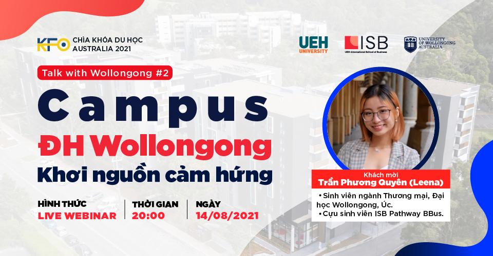 Campus ĐH Wollongong - Khơi nguồn cảm hứng
